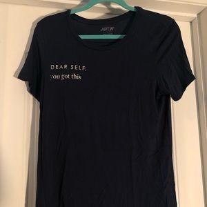 """Navy """"Dear Self, You Got This"""" T-Shirt"""